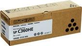 Картридж Ricoh SP C360HE 408184 (черный)